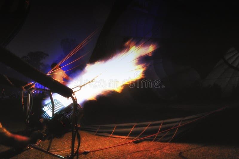Μπαλόνι πυρκαγιάς στοκ φωτογραφία με δικαίωμα ελεύθερης χρήσης