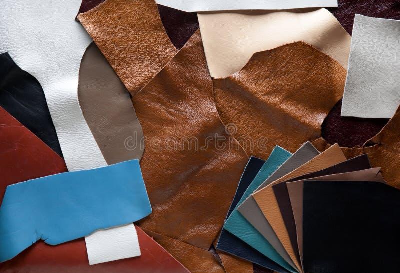 Μπαλώματα δέρματος του διαφορετικού χρώματος στοκ εικόνες με δικαίωμα ελεύθερης χρήσης