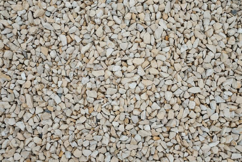 Μπεζ αμμοχάλικο ελαφροπετρών ως δομικό υλικό στοκ φωτογραφίες με δικαίωμα ελεύθερης χρήσης