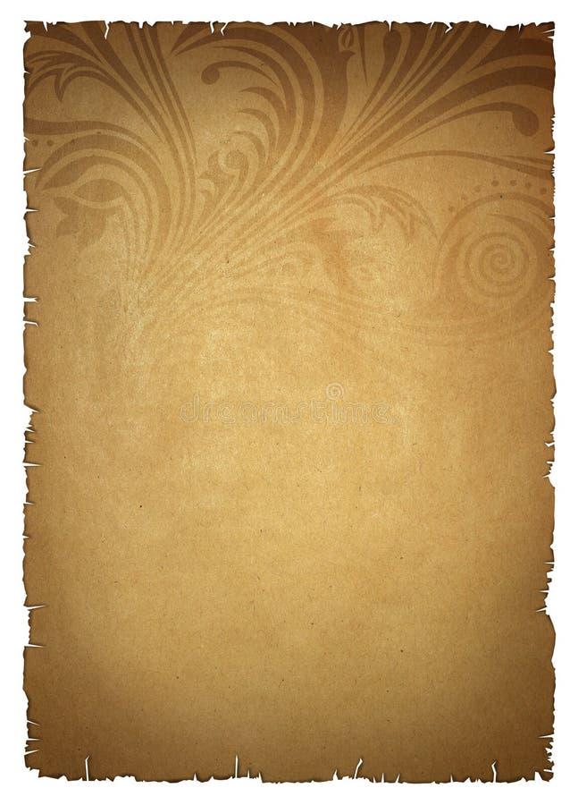 μπεζ παλαιό έγγραφο απεικόνιση αποθεμάτων