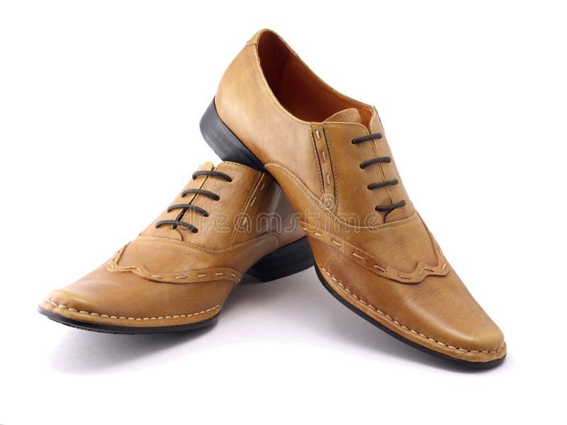 μπεζ παπούτσια δύο στοκ φωτογραφία