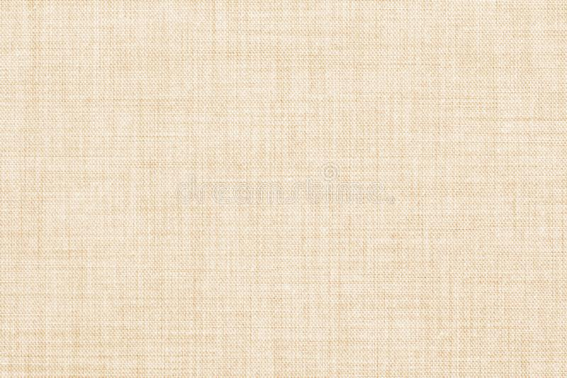 Μπεζ χρωματισμένο άνευ ραφής σύσταση λινού ή υπόβαθρο υφάσματος ελεύθερη απεικόνιση δικαιώματος