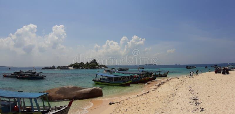 Μπελιτούνγκ Ινδονησίας στοκ εικόνα