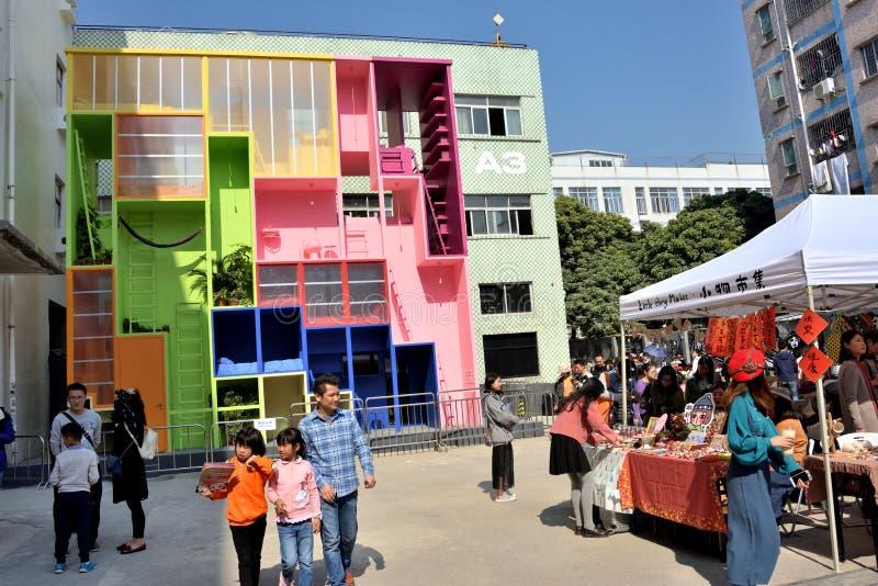 2017 μπιενάλε δις-πόλεων UrbanismArchitecture Shenzhen στοκ εικόνα
