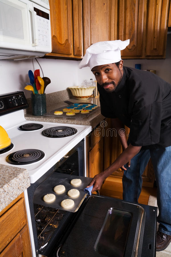 μπισκότα αρχιμαγείρων ψησί&m στοκ φωτογραφίες με δικαίωμα ελεύθερης χρήσης