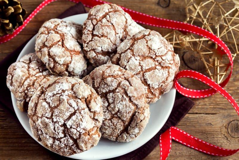 Μπισκότα για Chrismas στοκ εικόνες με δικαίωμα ελεύθερης χρήσης