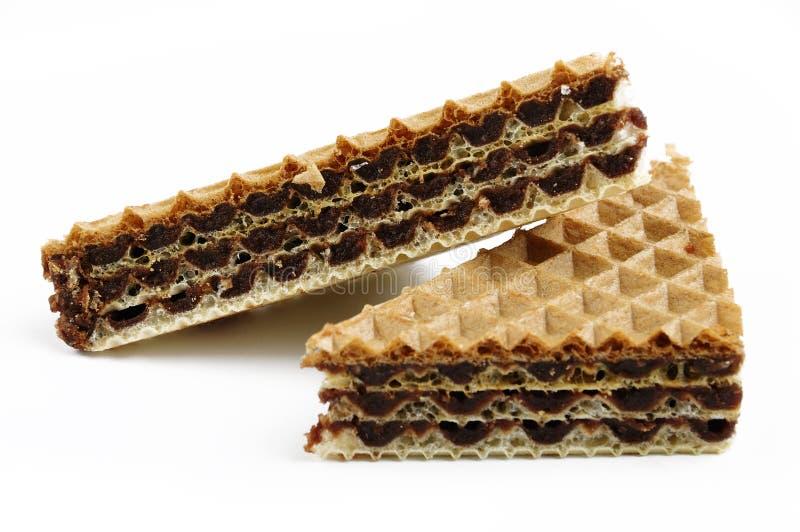 μπισκότα δύο στοκ εικόνες