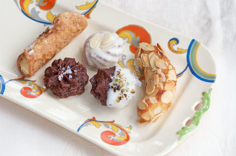 μπισκότα ιταλικά στοκ εικόνες