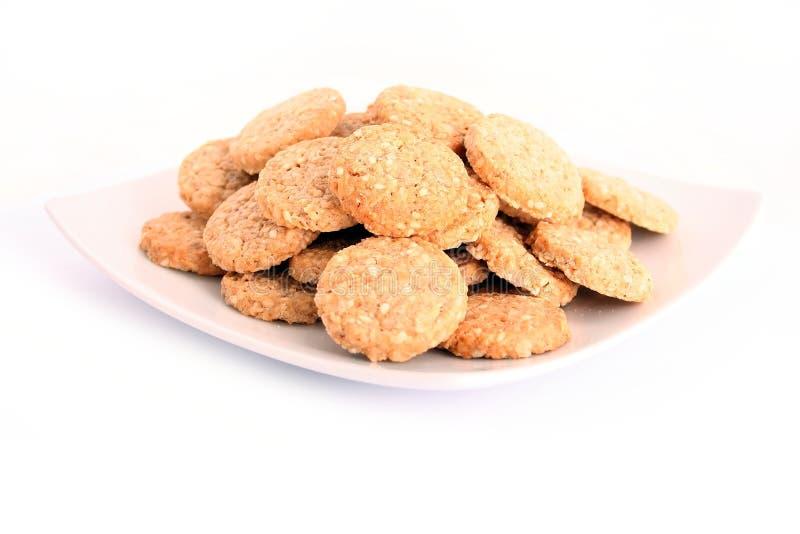 μπισκότα κέικ μπισκότων στοκ εικόνα με δικαίωμα ελεύθερης χρήσης