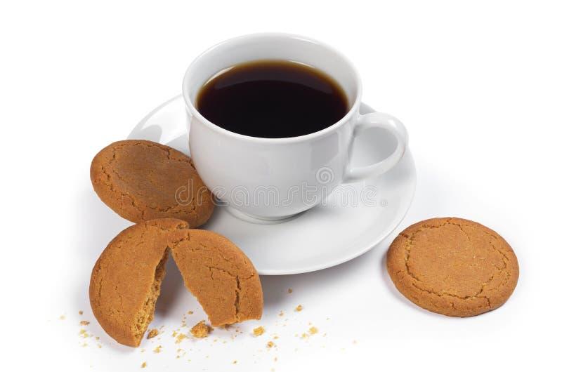 Μπισκότα καφέ και πιπεροριζών στοκ φωτογραφίες με δικαίωμα ελεύθερης χρήσης