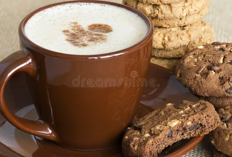 μπισκότα καφέ στοκ φωτογραφίες