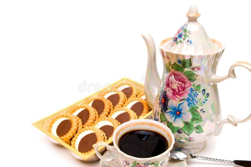 Download μπισκότα καφέ στοκ εικόνες. εικόνα από επιδόρπιο, μαύρα - 13178326