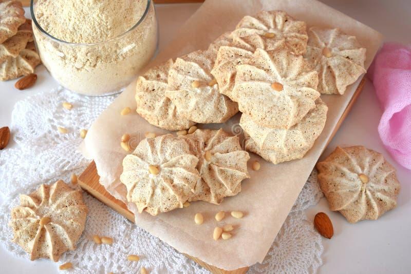 Μπισκότα μαρέγκας στοκ φωτογραφία με δικαίωμα ελεύθερης χρήσης