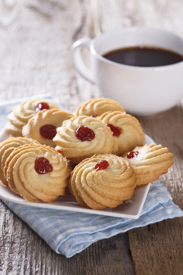 Μπισκότα μαρμελάδας στοκ φωτογραφία
