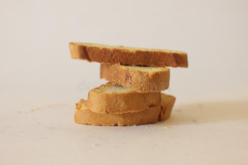 Μπισκότα ξύλων καρυδιάς στοκ εικόνα