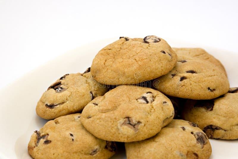 μπισκότα σοκολάτας τσιπ στοκ εικόνες