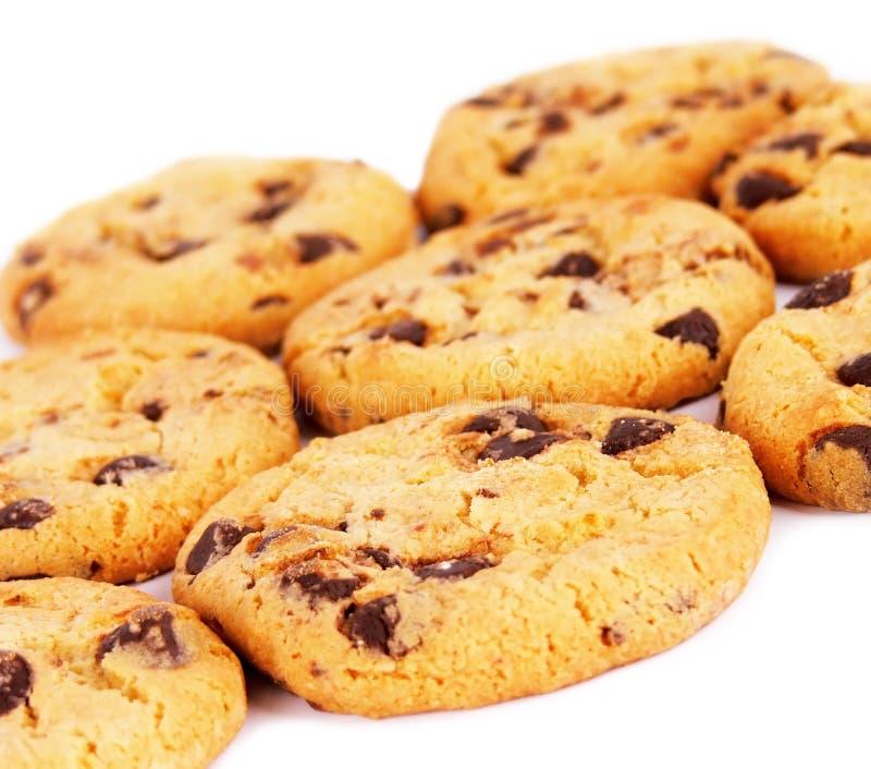 μπισκότα σοκολάτας τσιπ &al στοκ εικόνα