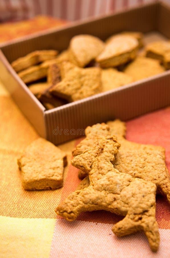 Μπισκότα ταράνδων στοκ εικόνες