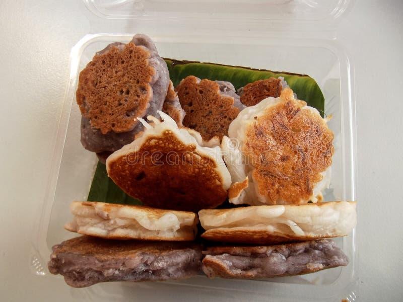 μπισκότα Ταϊλανδός καρύδων στοκ φωτογραφίες