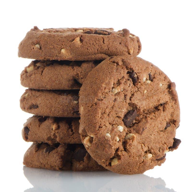 Μπισκότα τσιπ σοκολάτας στοκ φωτογραφία