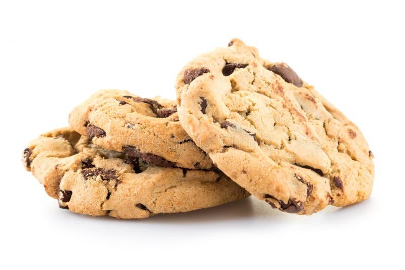 Μπισκότα τσιπ σοκολάτας στοκ φωτογραφίες με δικαίωμα ελεύθερης χρήσης