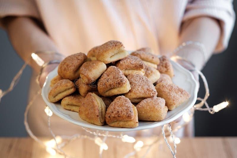 Μπισκότα τυριών εξοχικών σπιτιών στοκ φωτογραφία με δικαίωμα ελεύθερης χρήσης