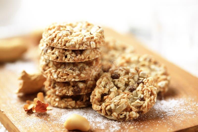 μπισκότα υγιή στοκ φωτογραφίες με δικαίωμα ελεύθερης χρήσης