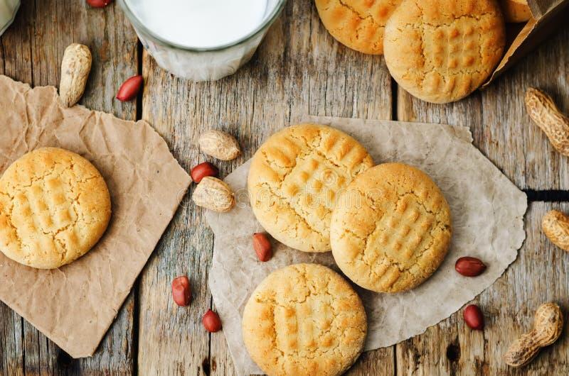 Μπισκότα φυστικοβουτύρου στοκ φωτογραφίες με δικαίωμα ελεύθερης χρήσης