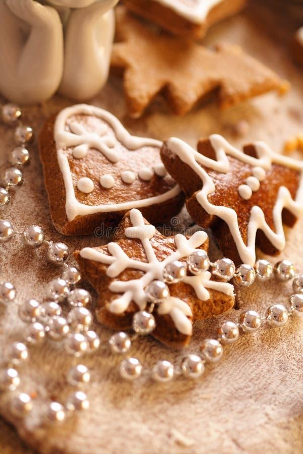 μπισκότα Χριστουγέννων ψη&sig στοκ φωτογραφίες