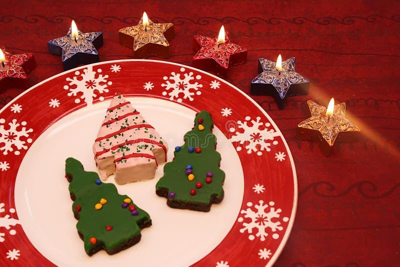 Download μπισκότα Χριστουγέννων στοκ εικόνα. εικόνα από χριστούγεννα - 1531899