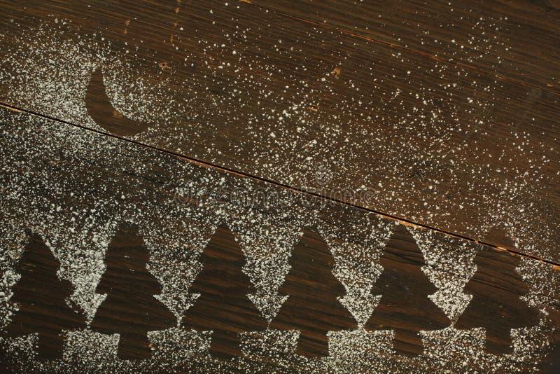 Μπισκότα χριστουγεννιάτικων δέντρων στοκ φωτογραφίες με δικαίωμα ελεύθερης χρήσης