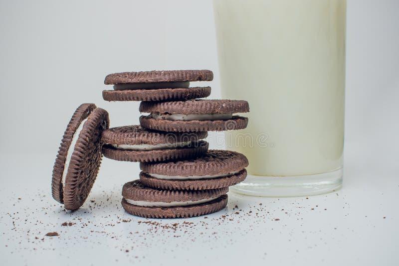 Μπισκότα Oreo στοκ εικόνα με δικαίωμα ελεύθερης χρήσης