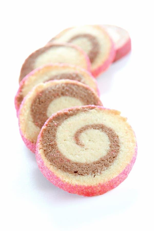 μπισκότα pinwheel στοκ φωτογραφίες με δικαίωμα ελεύθερης χρήσης