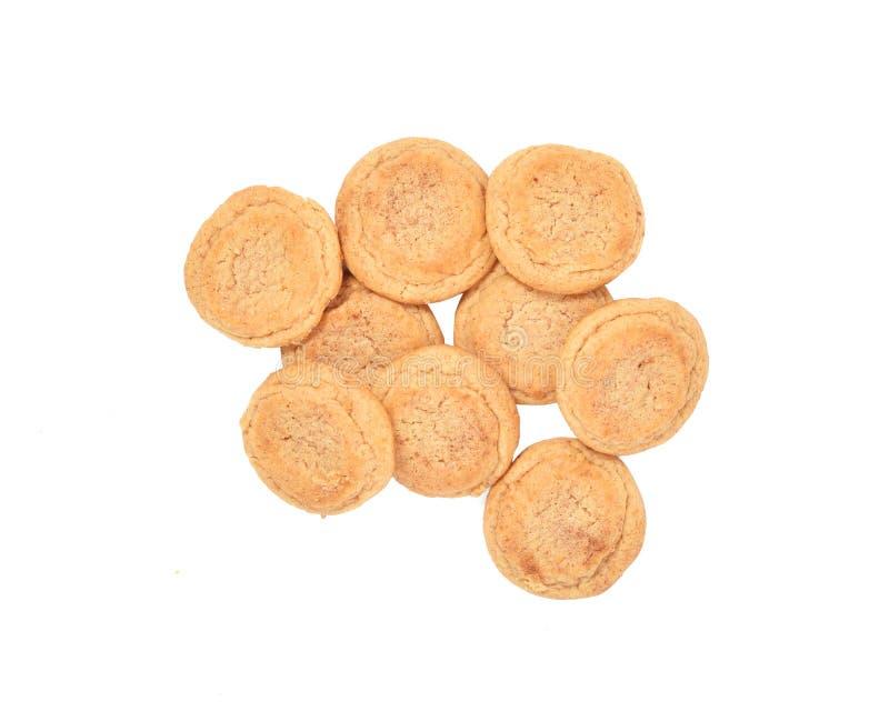 Μπισκότα Snickerdoodle στοκ εικόνα με δικαίωμα ελεύθερης χρήσης
