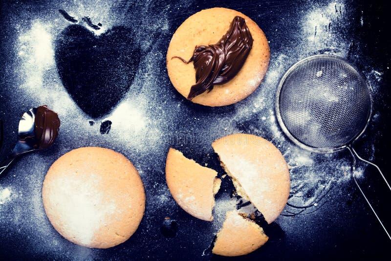 Μπισκότα Tasy στοκ εικόνες