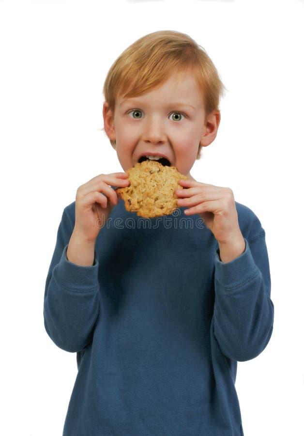 μπισκότο αγοριών στοκ φωτογραφία