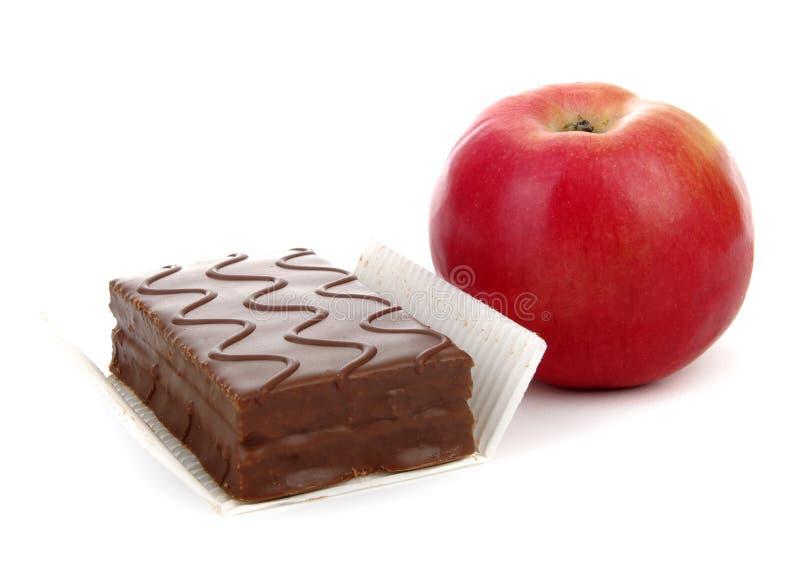 μπισκότο μήλων στοκ εικόνες
