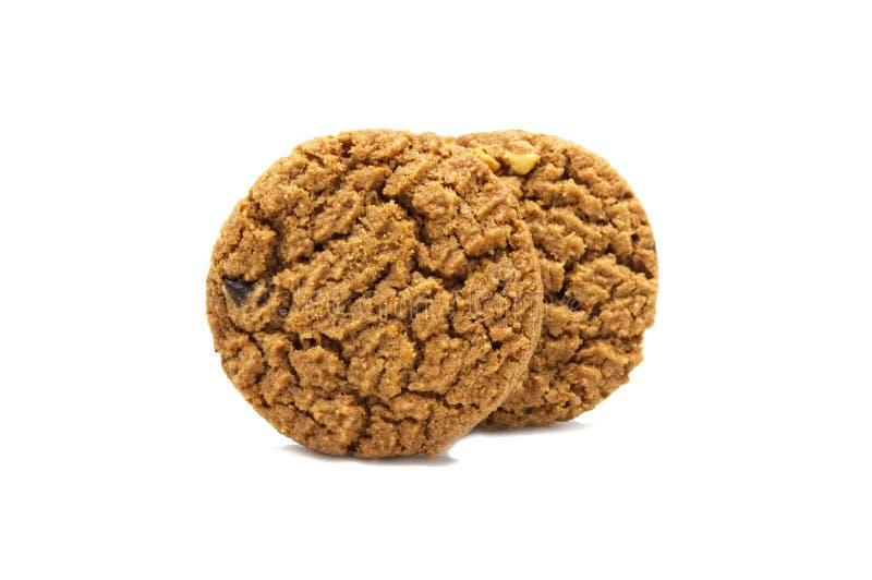 Μπισκότο με το βούτυρο τσιπ σοκολάτας στοκ φωτογραφία με δικαίωμα ελεύθερης χρήσης