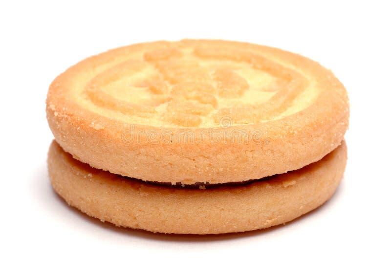 μπισκότο που απομονώνετα στοκ εικόνες