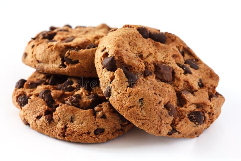 Μπισκότο τσιπ σοκολάτας στοκ εικόνες