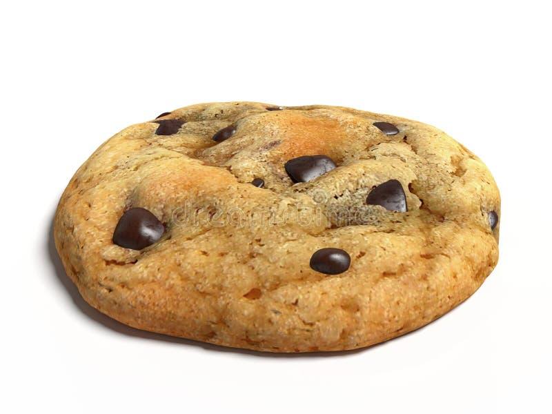 Μπισκότο τσιπ σοκολάτας διανυσματική απεικόνιση