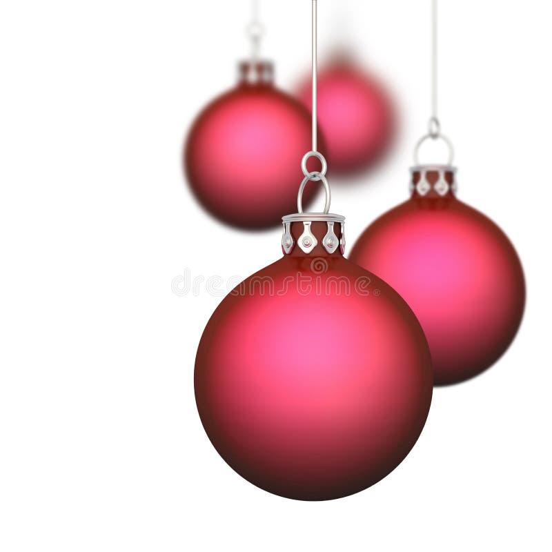 Μπιχλιμπίδια Χριστουγέννων στοκ εικόνα με δικαίωμα ελεύθερης χρήσης