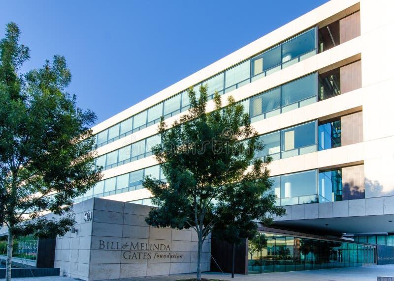 Μπιλ και ίδρυμα της Melinda Gates στοκ εικόνα