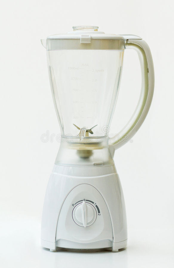 μπλέντερ που ψαλιδίζει το απομονωμένο μονοπάτι κουζινών στοκ φωτογραφία με δικαίωμα ελεύθερης χρήσης