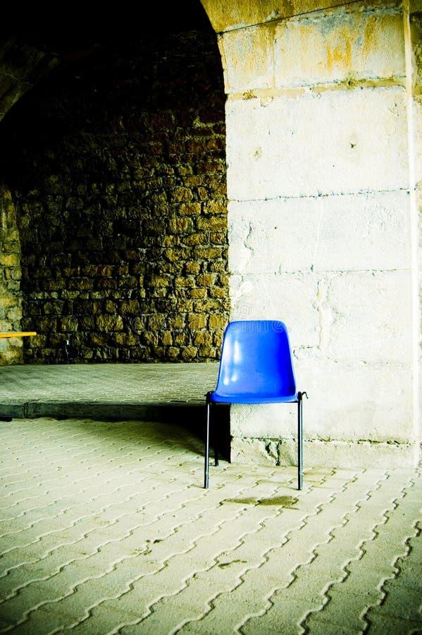 μπλε έδρα στοκ φωτογραφίες