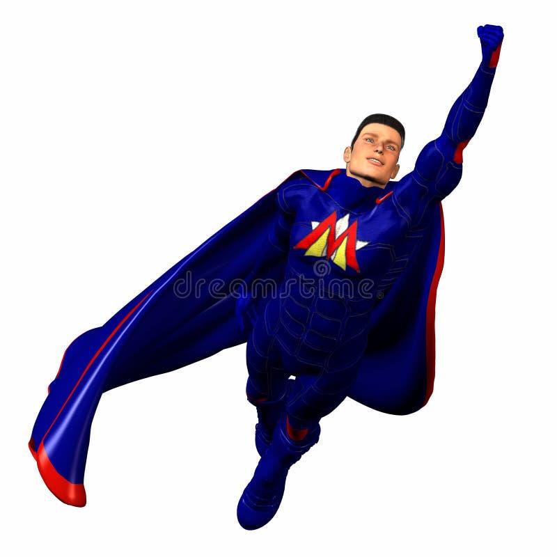 μπλε ήρωας 3 έξοχος ελεύθερη απεικόνιση δικαιώματος