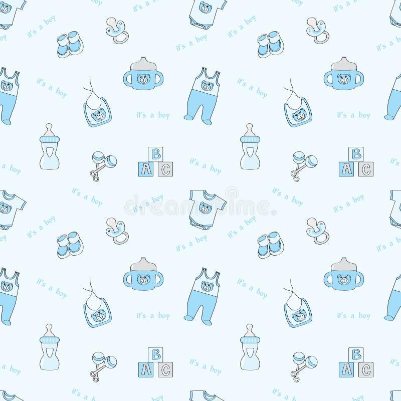 μπλε αγόρι s ανασκόπησης άν&epsilo ελεύθερη απεικόνιση δικαιώματος