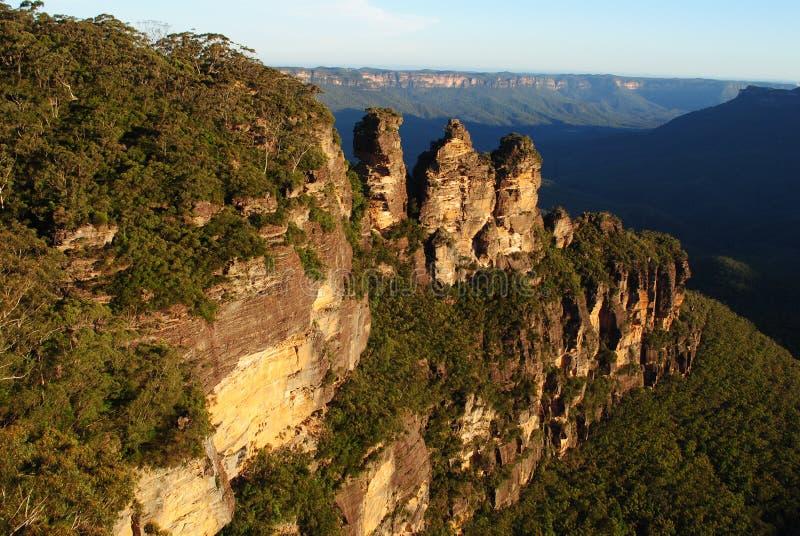 μπλε αδελφές τρία βουνών στοκ φωτογραφίες με δικαίωμα ελεύθερης χρήσης