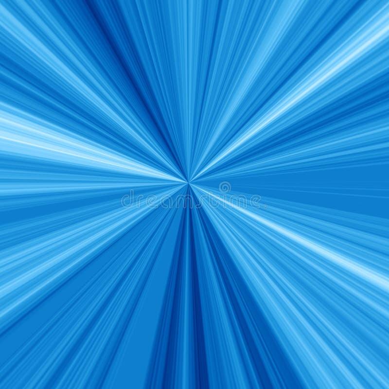 Μπλε ακτίνες ελεύθερη απεικόνιση δικαιώματος