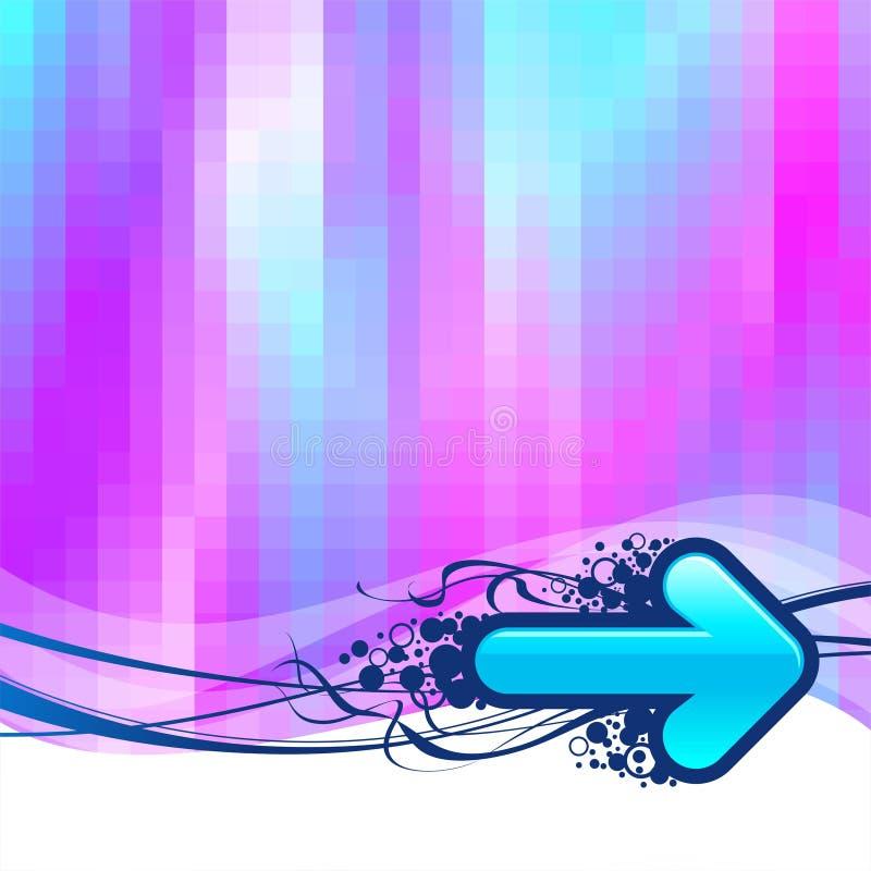 μπλε ανασκόπησης βελών ελεύθερη απεικόνιση δικαιώματος